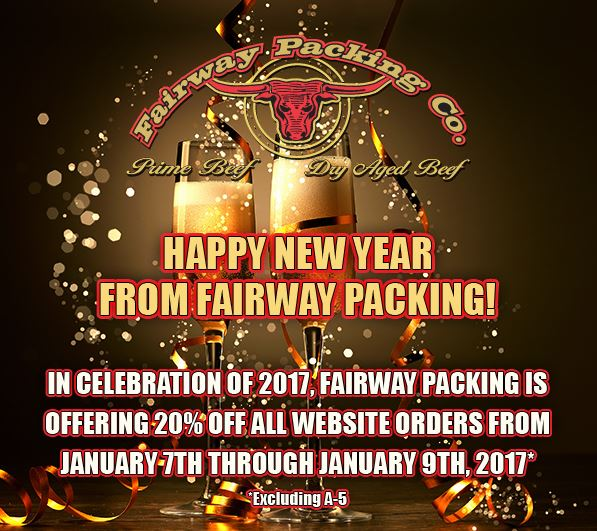 Fairway Packing New Year 2017 Special