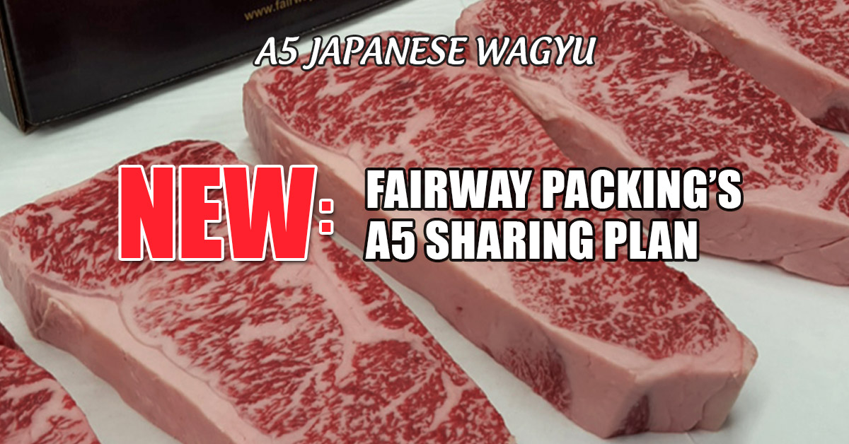 Fairway Packing A5 JAPANESE WAGYU