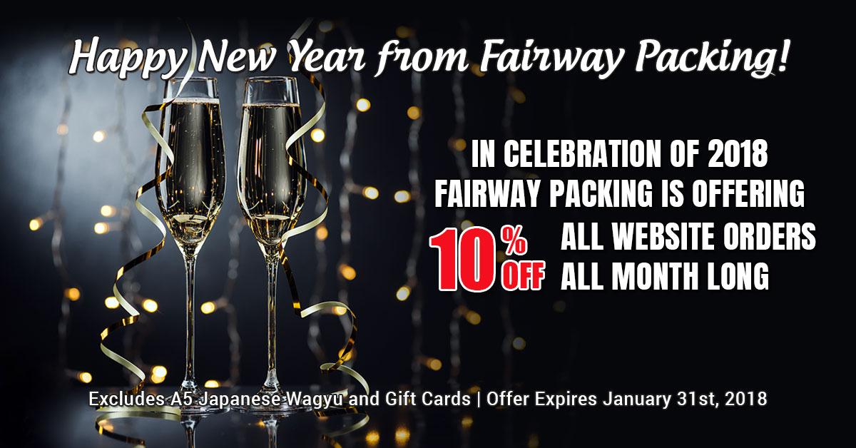 Fairway Packing New Years Specials 2018